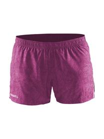 Craft Focus Race Shorts - damskie spodenki do biegania - fioletowe SS16