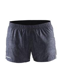 Craft Focus Race Shorts - damskie spodenki do biegania - czarny-print SS16