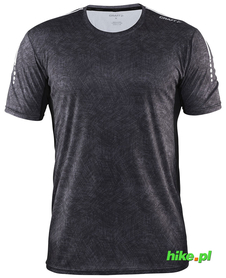 Koszulka Craft Mind SS TEE czarny print SS16