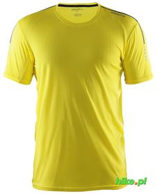 Koszulka Craft Mind SS TEE żółty SS16