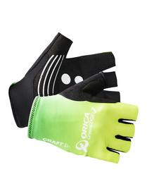 rękawiczki rowerowe Craft orica greenedge replica Glove SS16