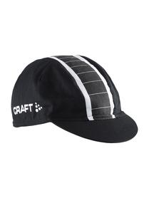 Craft Gran Fondo Cap -  czapka rowerowa czarno-biała SS16