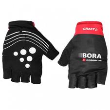 rękawiczki rowerowe Craft BORA ARGON 18 REPLICA GLOVE czarno-czerwone SS16