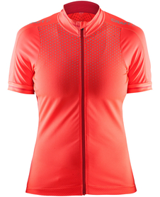 Craft Glow Jersey - damska koszulka rowerowa - pomarańczowa SS16
