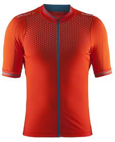 Craft Glow Jersey - męska koszulka rowerowa - pomarańczowa SS16