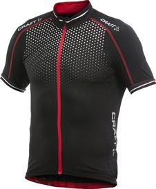 Craft Glow Jersey - męska koszulka rowerowa - czarna SS16