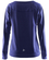 Craft Fitness Pure Light - damska bluza - fioletowa