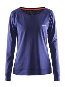 Damska bluza Fitness Pure Light Sweatshirt-fioletowa SS16