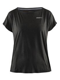 Craft Pure Light TEE - damska koszulka - czarna SS16