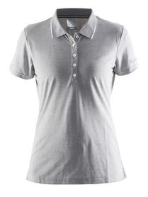 Craft IN-THE-ZONE PIQUE - koszulka damska - szary SS16