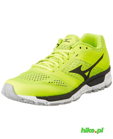 buty do biegania Mizuno Synchro MX safety yellow/black/silver SS16