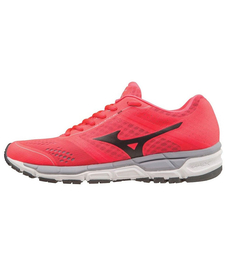 Mizuno Synchro MX - damskie buty do biegania - Diva pink/Black/Silver SS16