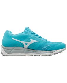Mizuno Synchro MX - damskie buty do biegania - Blue Atoll / White / Silver SS16