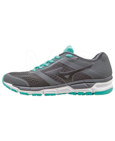 Mizuno Synchro MX - damskie buty do biegania - Dark Shadow / Black / Atlantis SS16