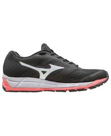 Mizuno Synchro MX - damskie buty do biegania - Black / White / Diva Pink SS16