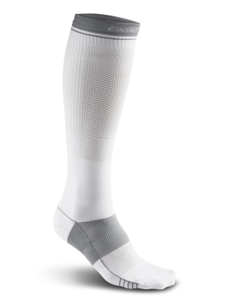 Craft Compression Sock - skarpetka sportowa - białe SS16