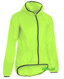 Silvini Savio - rowerowa kurtka przeciwdeszczowa żółtozielona