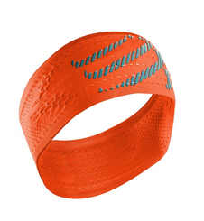 Compressport HeadBand ON/OFF- opaska na głowę - jaskrawa-pomarańcz SS16