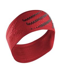 Compressport HeadBand ON/OFF- opaska na głowę - ciemna-czerwień