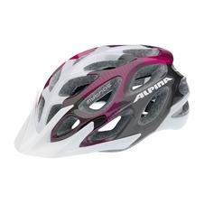 damski kask rowerowy Alpina Mythos 2.0 - szaro-fioletowo-biały SS16