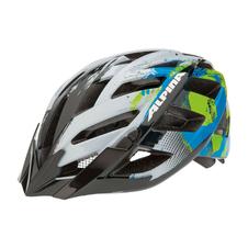 Alpina Panoma - kask rowerowy - szaro-zielono-niebieski SS16