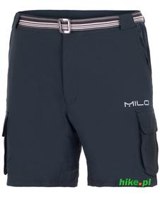 Milo Aros - męskie krótkie spodenki czarne