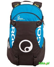 Ergon BA3 Evo plecak rowerowy czarny-niebieski
