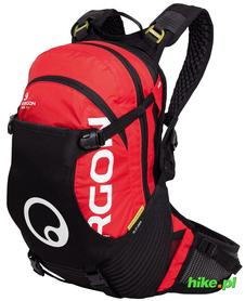Ergon BA3 Evo plecak rowerowy czarny-czerwony