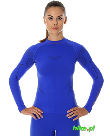 Brubeck Thermo damska koszulka termoaktywna kobaltowa