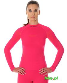 Brubeck Thermo damska koszulka termoaktywna malinowa