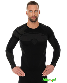 Brubeck Dry koszulka z długim rękawem czarna