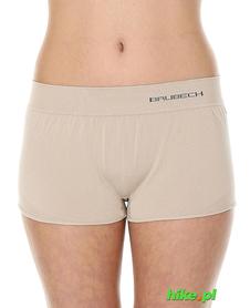 Brubeck piżama Comfort Night - bokserki damskie cappuccino