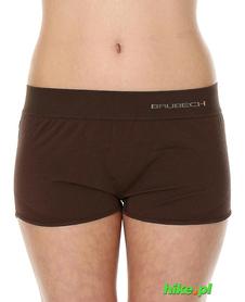 Brubeck piżama Comfort Night - bokserki damskie czekoladowe
