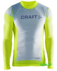 Craft Active Extreme 2.0 WS męska koszulka z Windstopperem żółtozielona