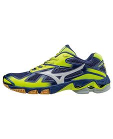 Mizuno Wave Bolt 5 - buty siatkarskie - granatowo-żółte