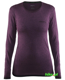 Craft Active Comfort RN LS - koszulka damska z długim rękawem ciemnofioletowa