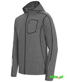 Męska bluza z kapturem Robin szara/czarna