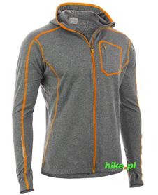 Viking Robin - męska bluza szara/pomarańczowa