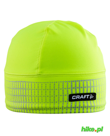 czapka Craft Brilliant 2.0 Hat żółtozielona