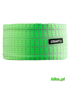 Craft Brilliant 2.0 Headband - opaska zielona