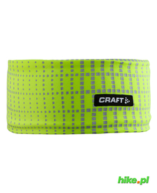 Craft Brilliant 2.0 Headband - opaska żółtozielona