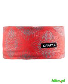 Craft Brilliant 2.0 Headband - opaska pomarańczowy fluo.