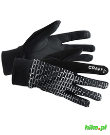 Craft Brilliant 2.0 Thermal Glove zimowe rękawiczki do biegania  czarne