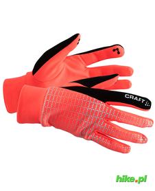 Craft Brilliant 2.0 Thermal Glove zimowe rękawiczki do biegania czerwone