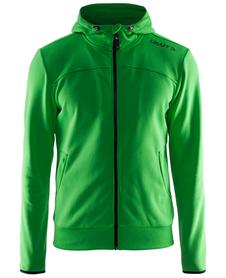 Craft Leisure Full Zip Hood - męska bluza zielona