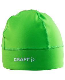 czapka Craft Light Thermal limonkowa