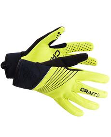 rękawiczki rowerowe Craft Storm Glove żółte/czarne