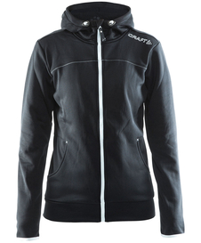 Craft Leisure Full Zip Hood - damska bluza czarna