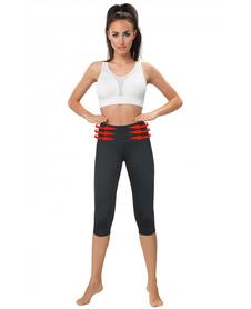 Gwinner Belly Control Capri legginsy wyszczuplające