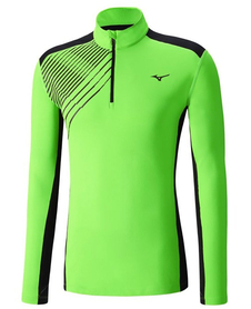 Mizuno Warmalite Venture Top męska bluza zielona